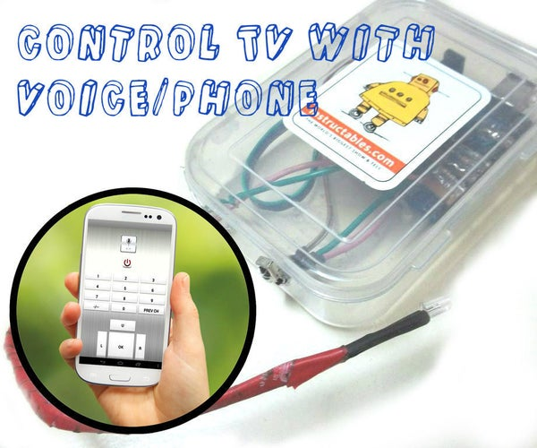 Aergia: Android Controlled TV Remote(with Speech Recognition)
