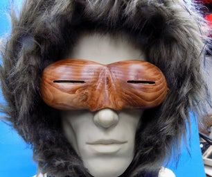 Traditional Inuit Style Snow Goggles