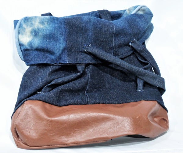 Reversible Tote Backpack