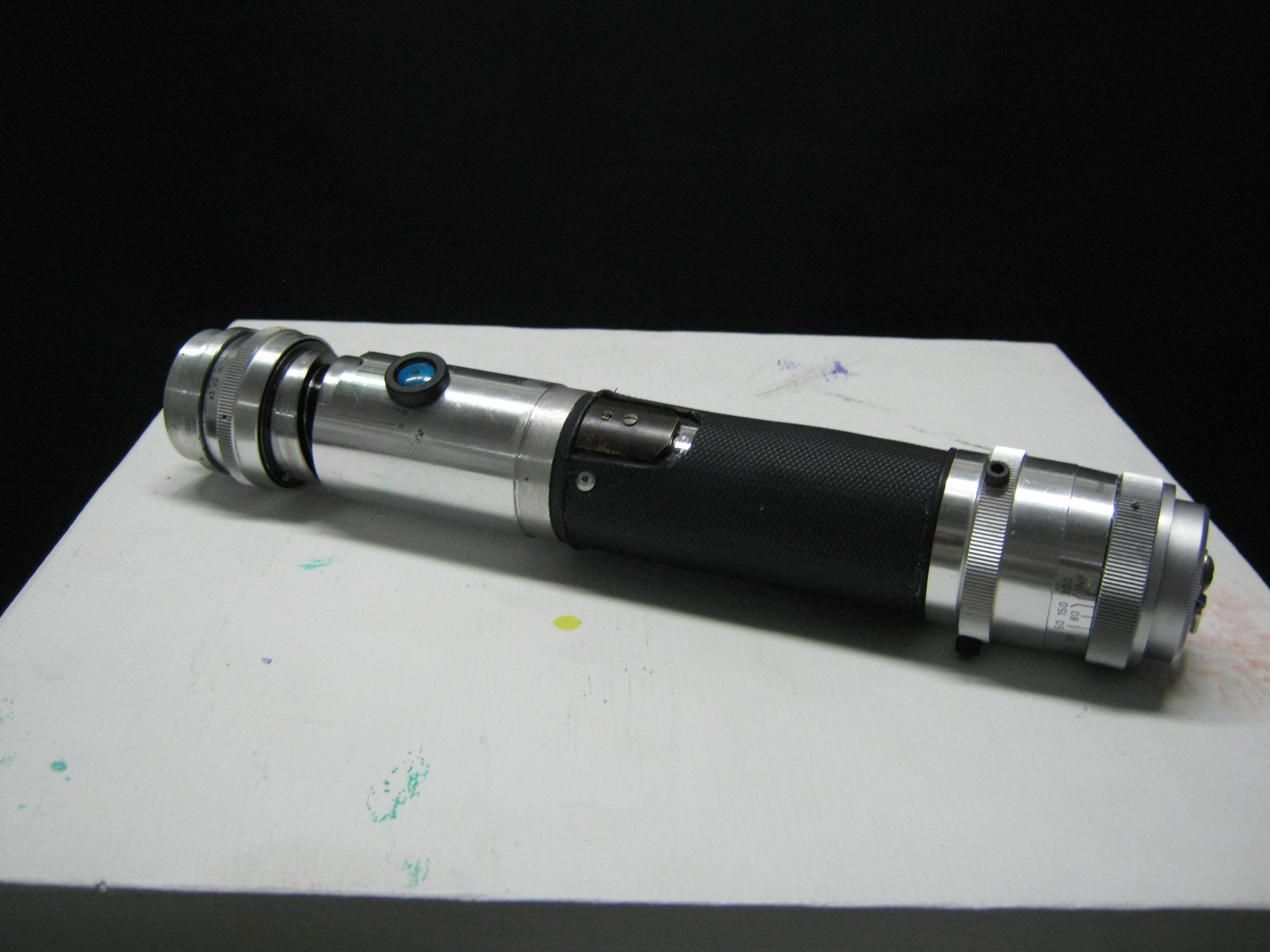Lightsaber from trash! (and less than $20.00 worth of hardware)