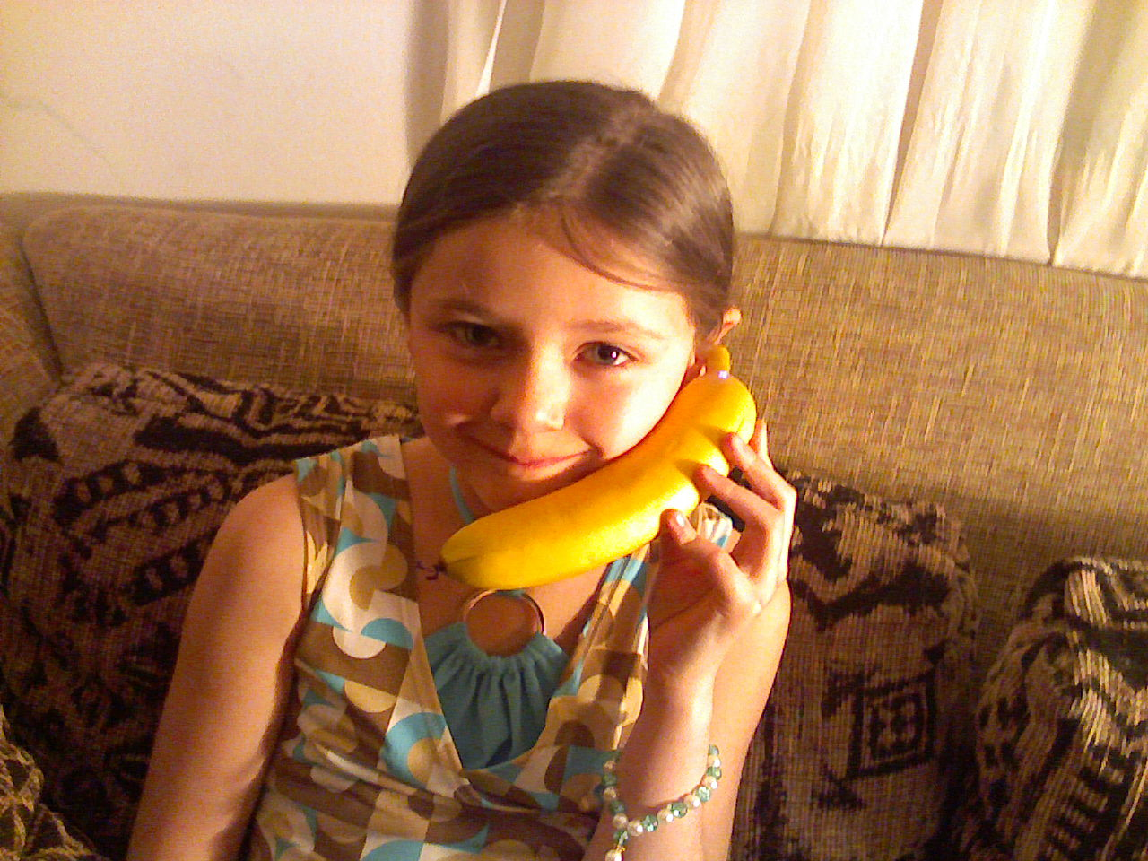 Bluetooth Banana Phone Wireless Handset