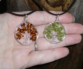 Wire Wrapped Tree of Life Tutorial