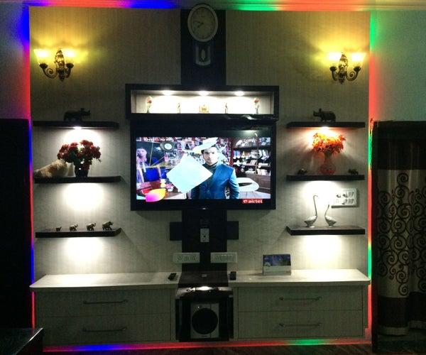 RGB TV Wall Unit