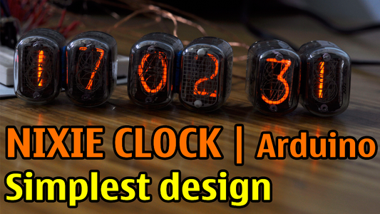Nixie Clock With Arduino   Simplest Design