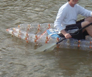 Make an Open Kayak From Recycled Bottles