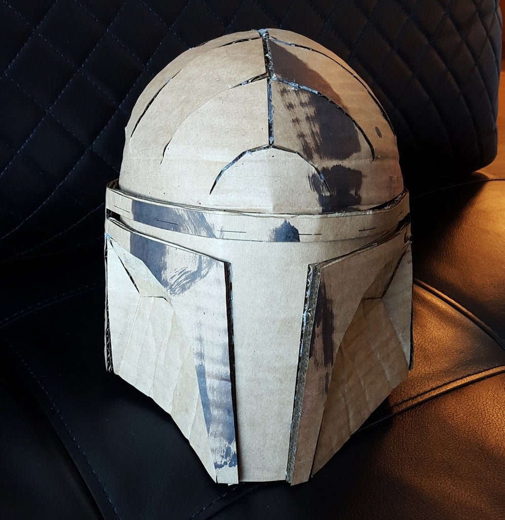Attach the Dome and Insets to the Facemask