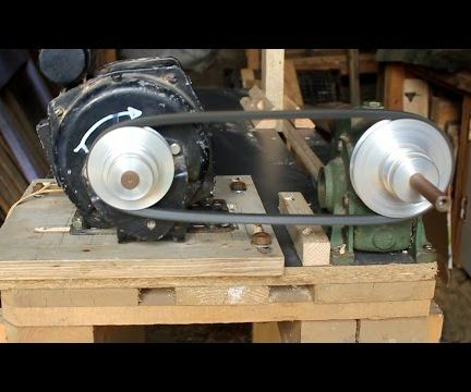 Home-made Woodworking Lathe From Repurposed Materials - Pallets and Old Washing Machine Motor Part 1