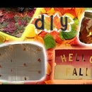 DIY Fall Decor For Your Room/House!
