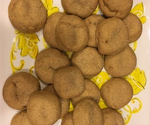 Soft & Chewy Gingerbread Cookies