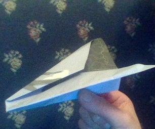 如何在8-10步中制作3个纸飞机