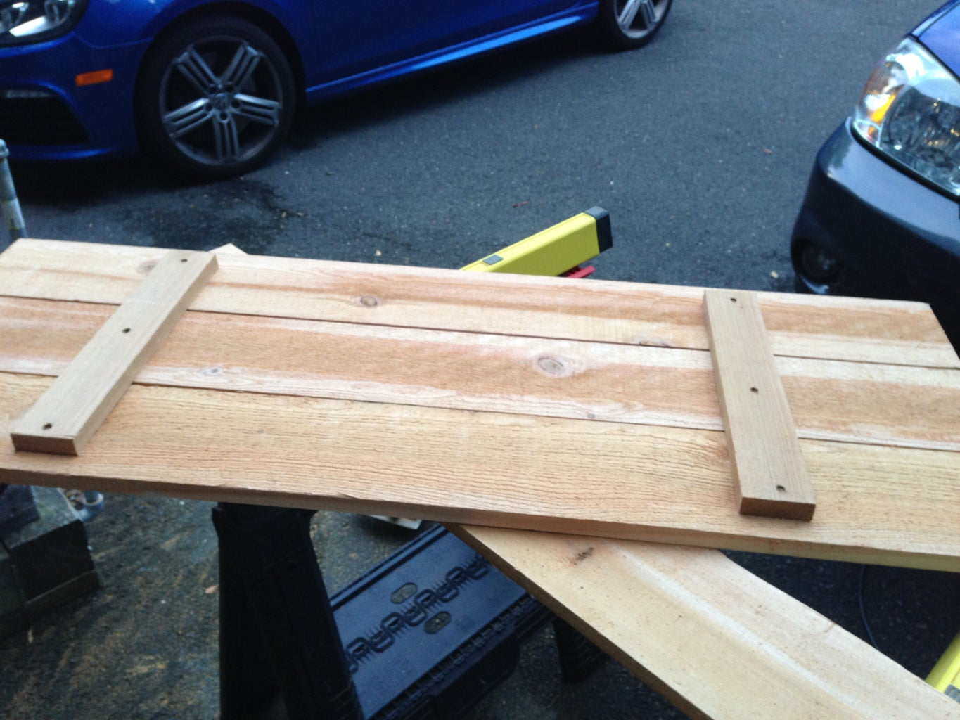 Make Bench Seat and Attach Hinge