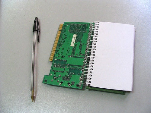 Network Cards Notebook