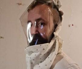 太空服灵感的水滴风帽