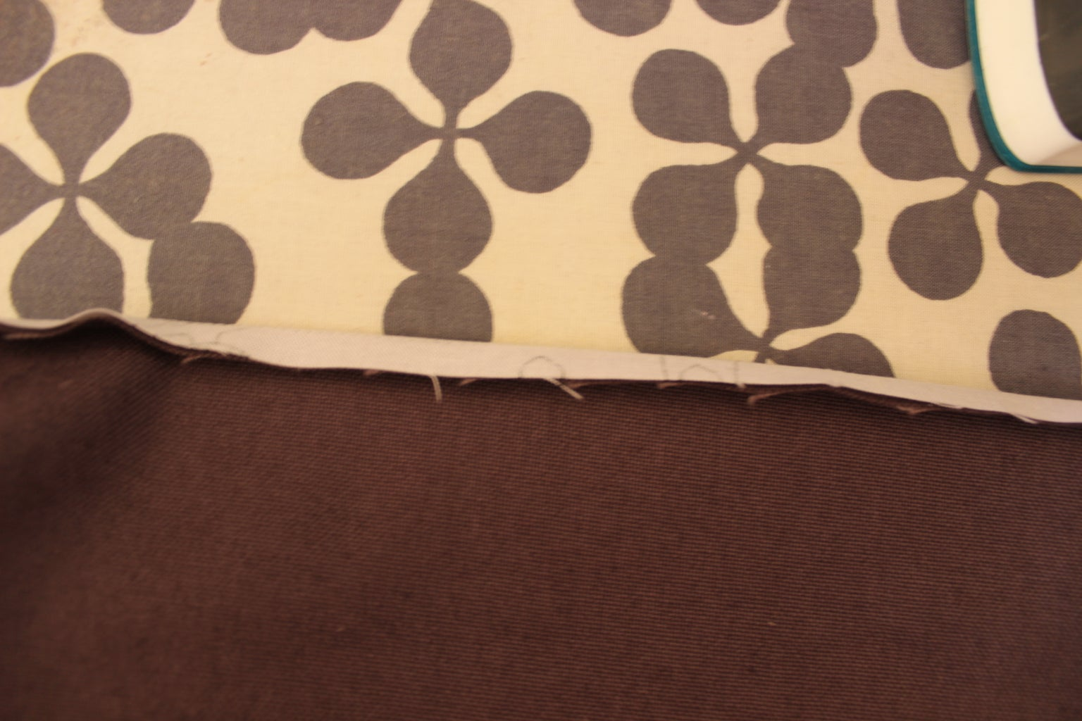 Iron, Turn Inside Out and Sew the Binding