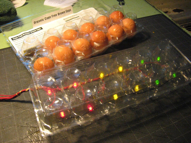Egg Carton Night Light