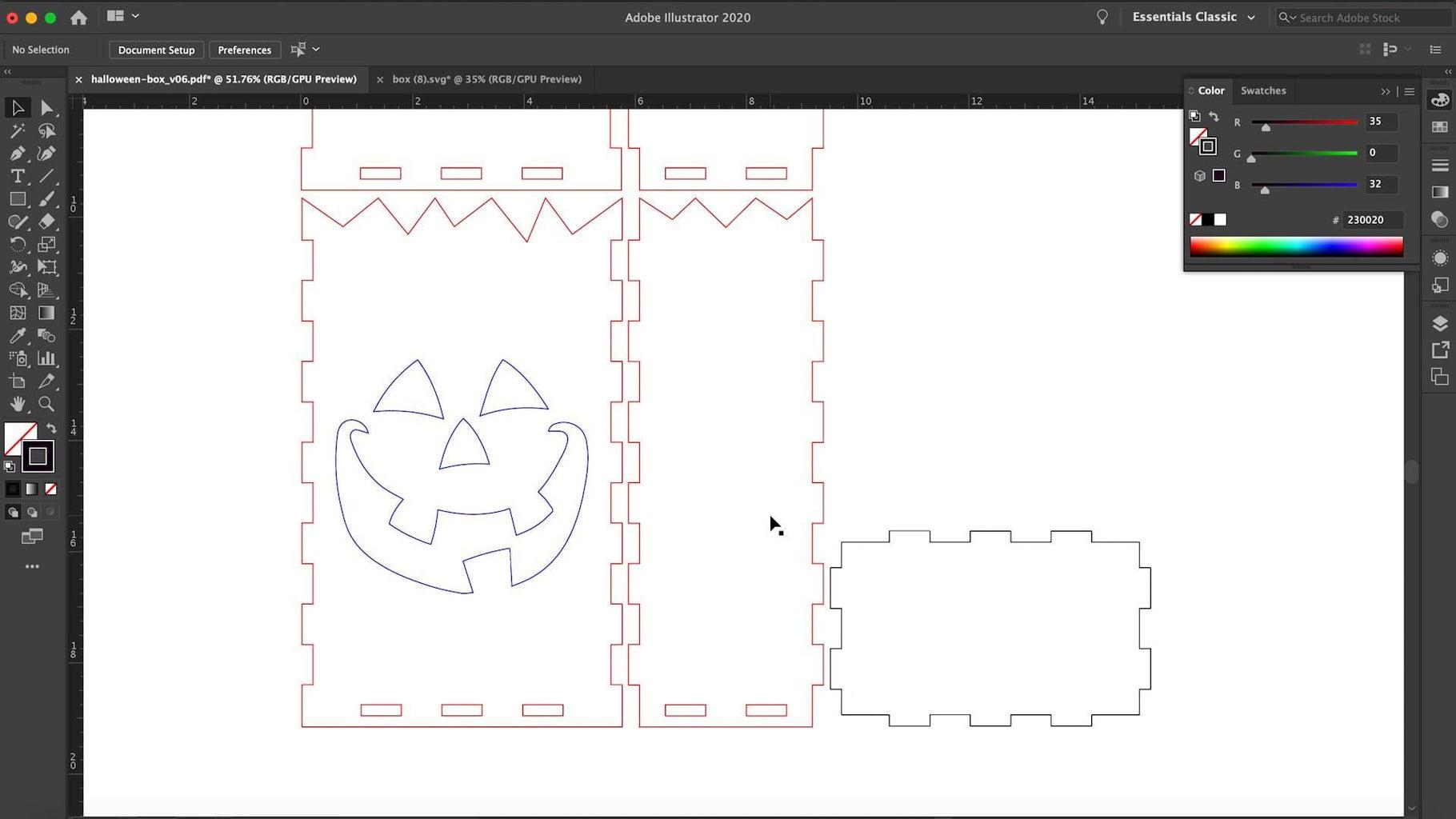 Add a Spooky Face