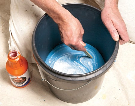 Paint Extenders to Avoid Overlaps