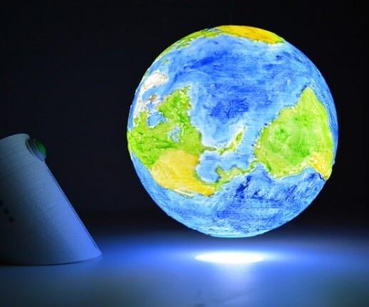 Digital Globe Lamp