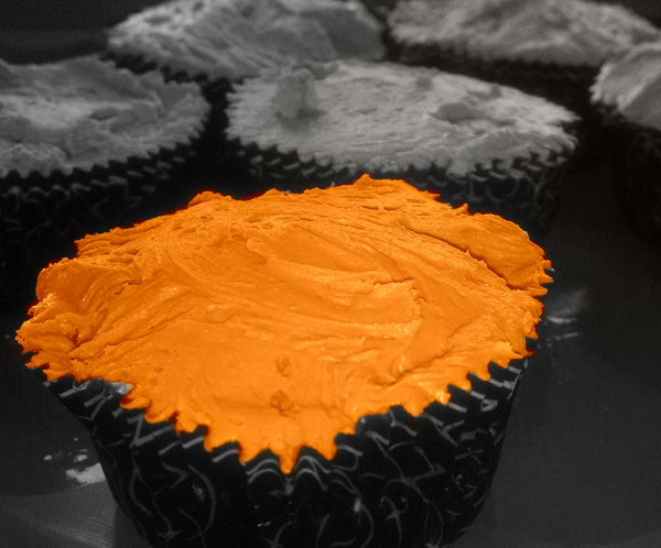 Cannellini Cupcakes With Licorice Icing (Gluten Free)