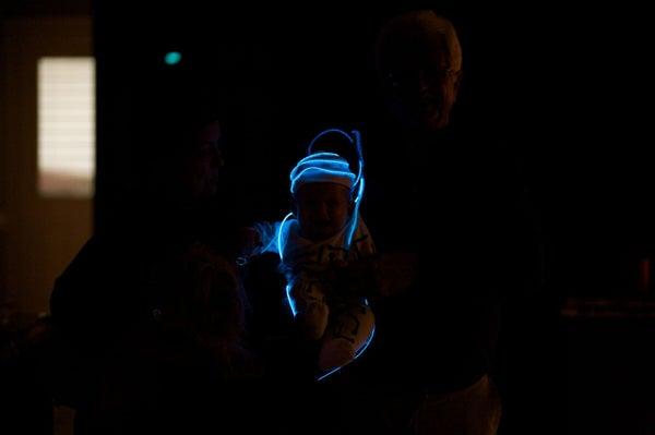 Baby Tron Costume