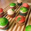 Mini Candy Caramel Apple Muffins