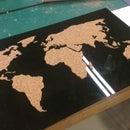 Cork Worldmap