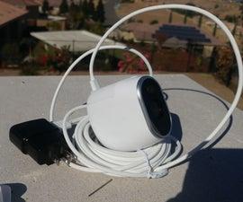 USB Power Arlo Camera