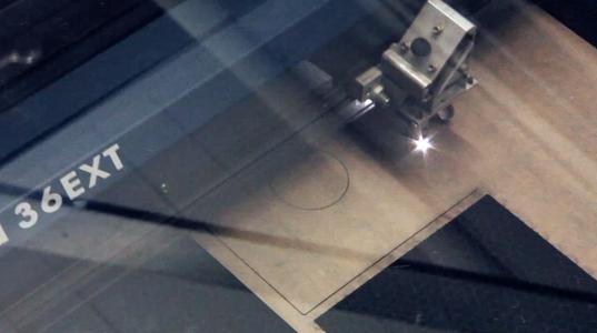 Laser-cut the Sheet Materials!