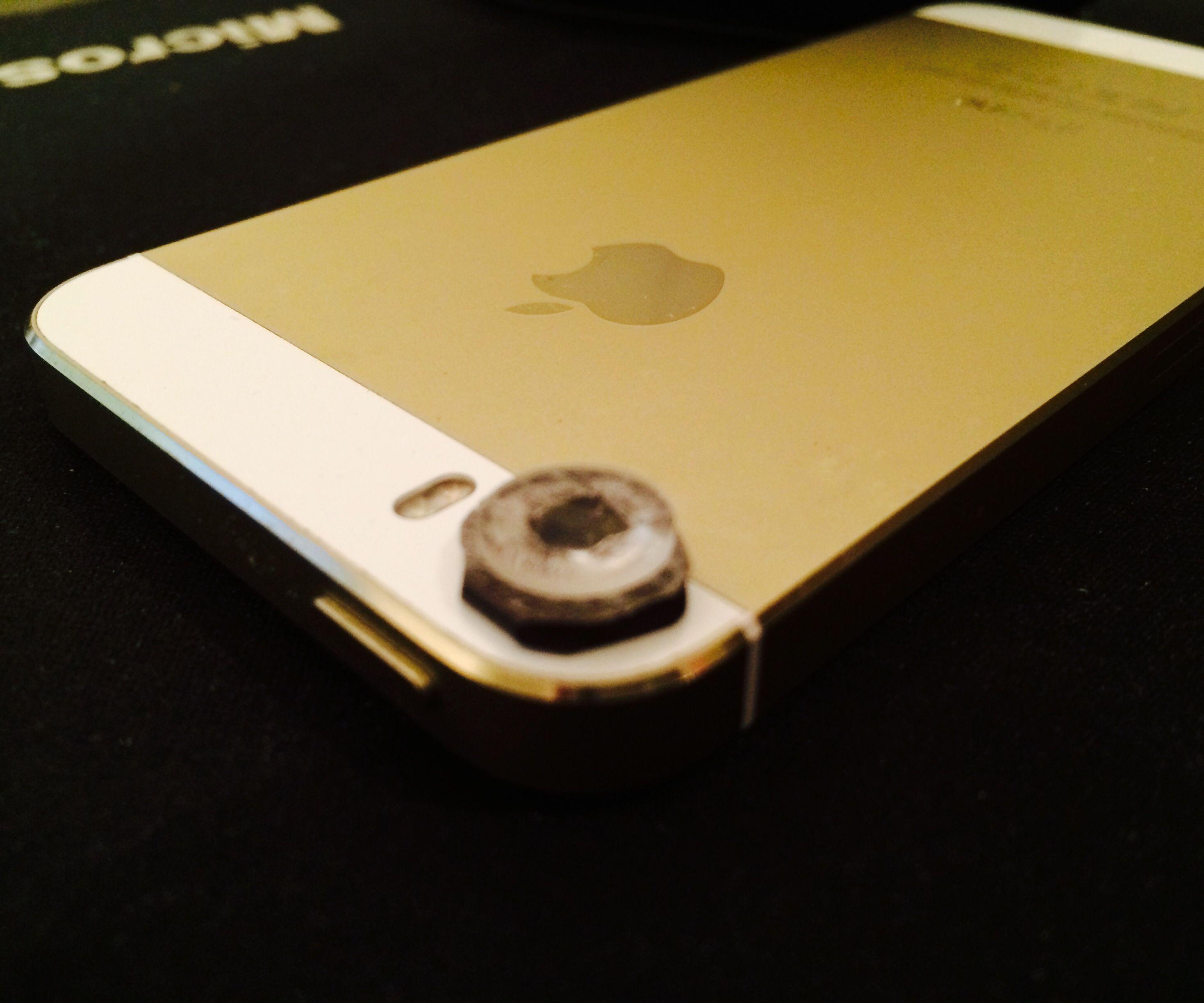 DIY Phone Magnetic Macro Lens
