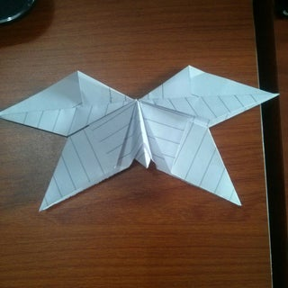 Butterfly in Origami