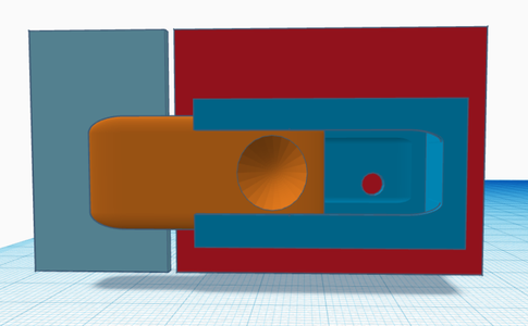 Simple Lock / Cupboard Lock / Child Lock