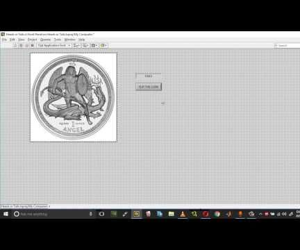 Coin Toss In Labview