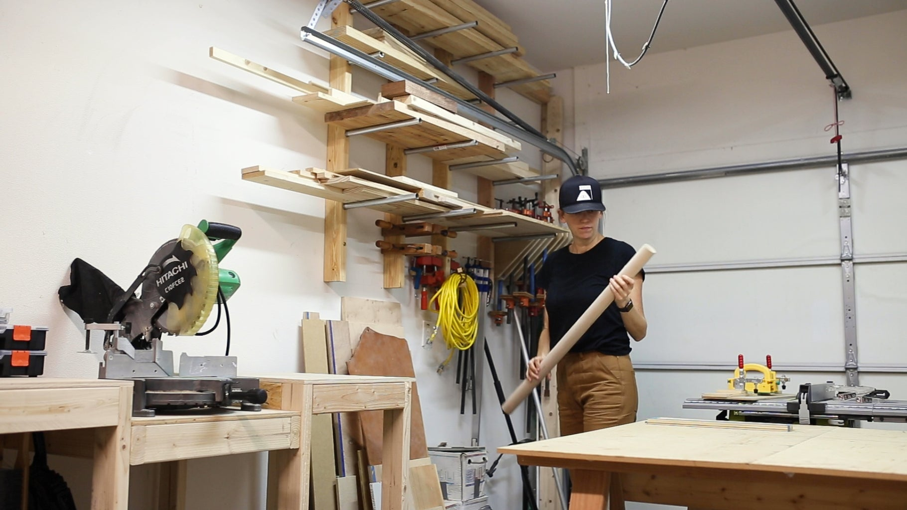 Prepare the Dowel for Cutting