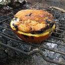 Orange Peel Campfire Muffin