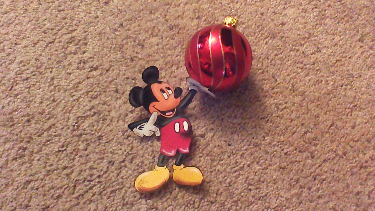 Drawn Mickey Mouse Ornament