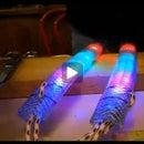 How to make a Glow Nunchaku