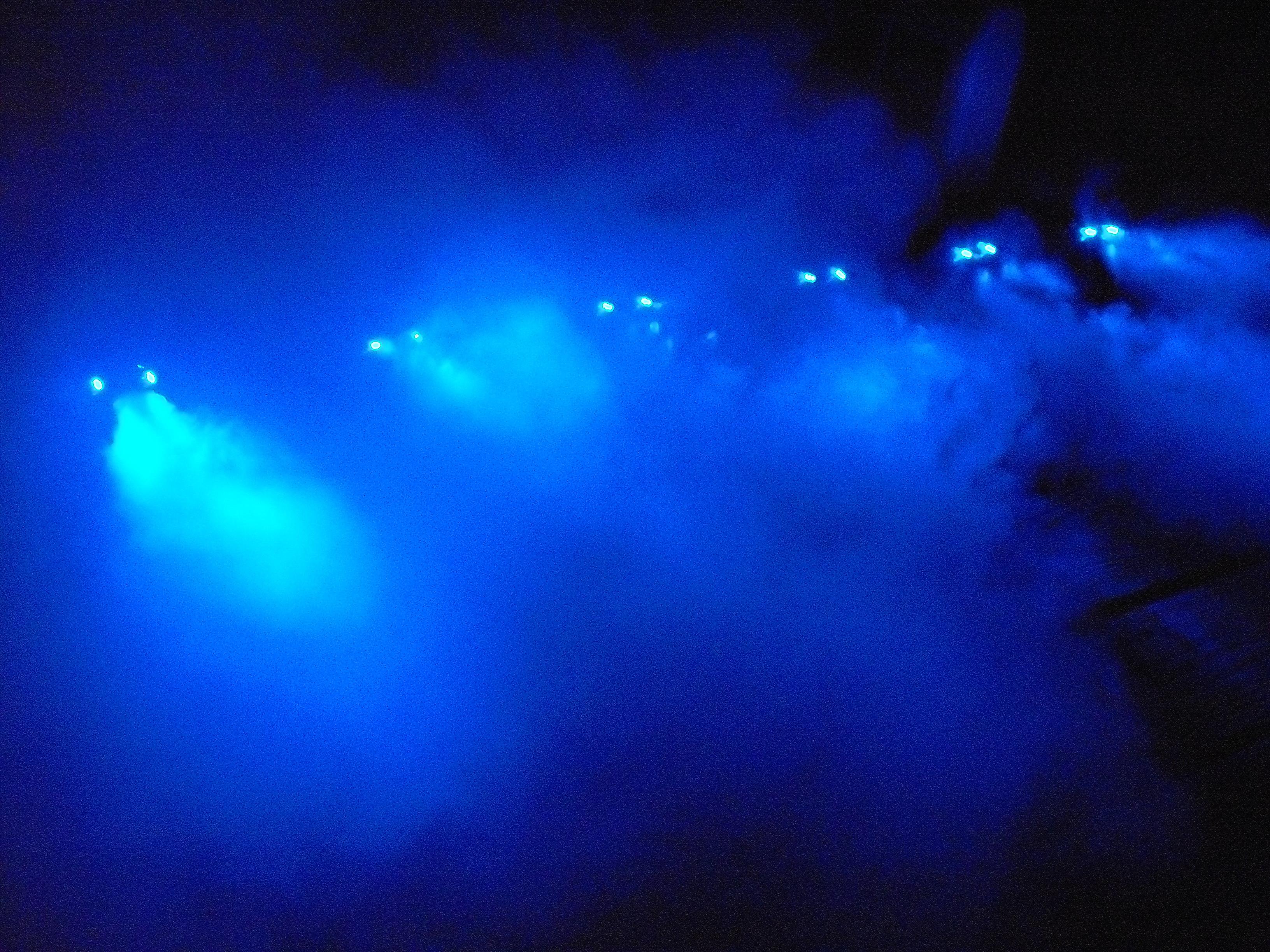 Multi-Color LED Fog Spreader