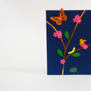 Insect Ecosystem Card With Paper Circuits