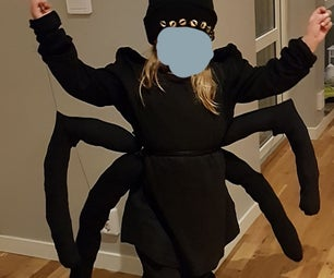 Easy Spider Costume