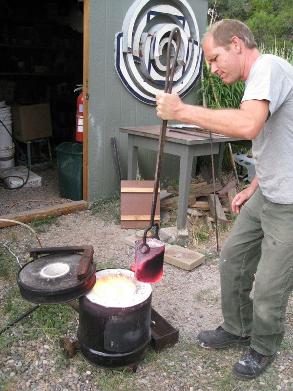 Dual Fuel Metal Melting Furnace