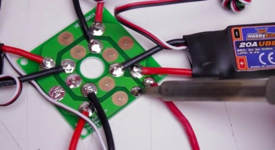 Step 2:Mounting the Motors and Speed Controllers