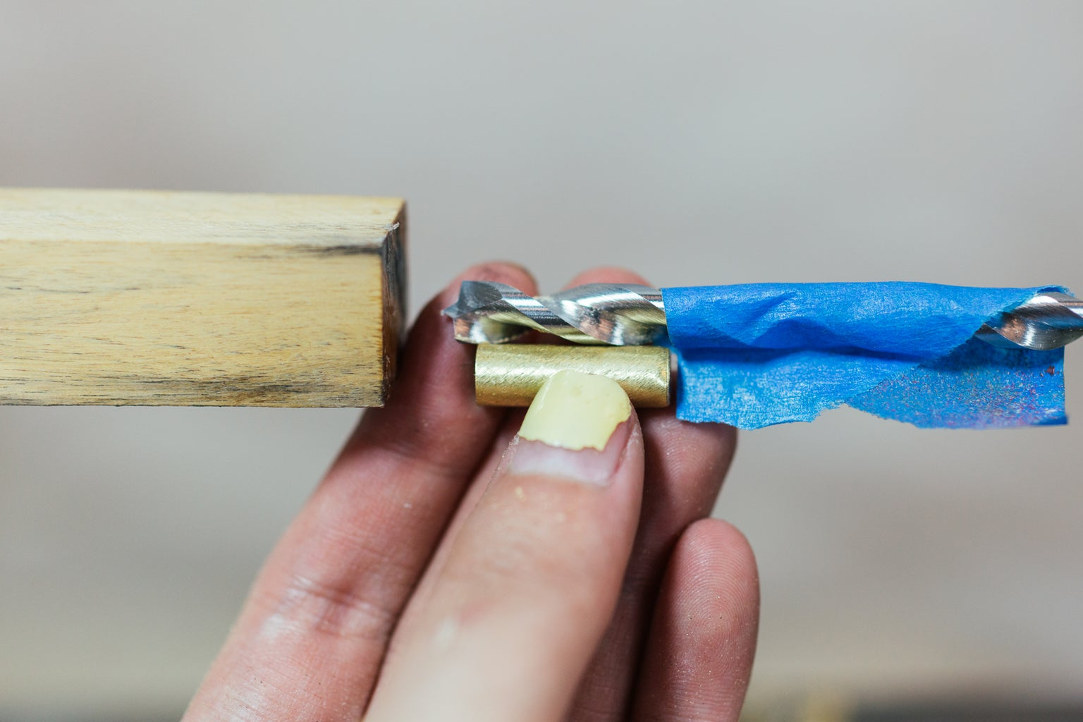 Drill a Hole to Length