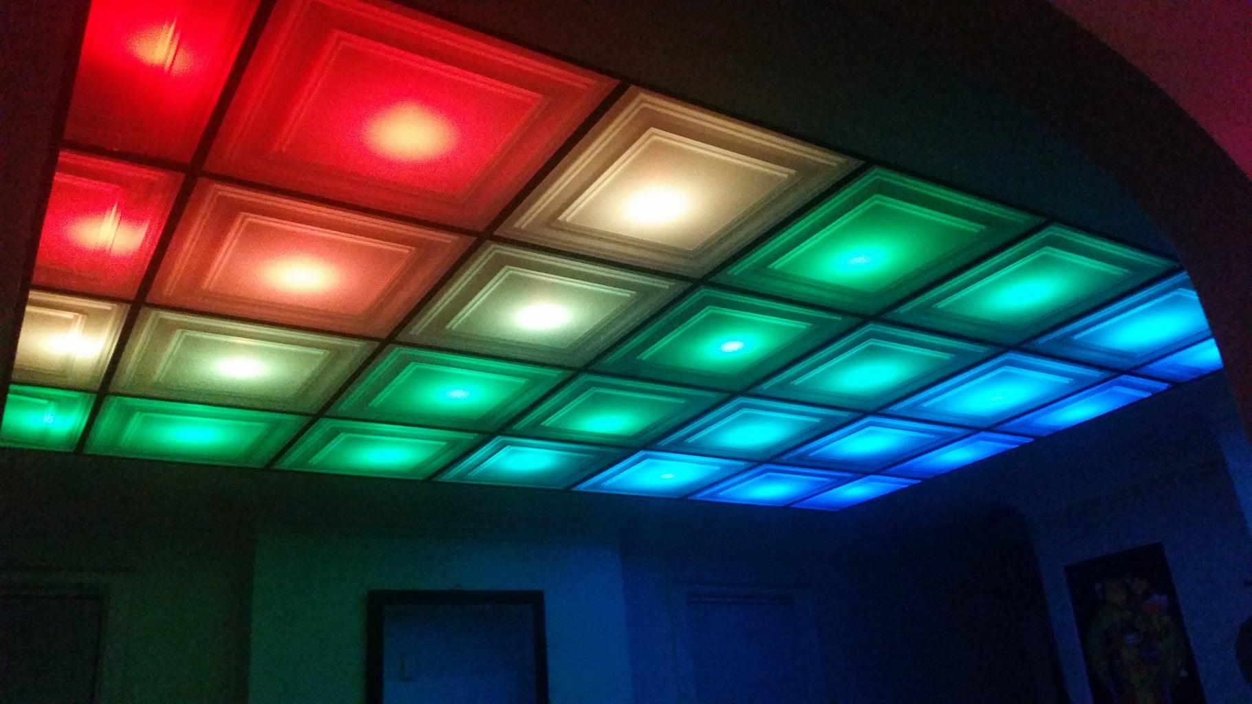 Pixel Drop Ceiling
