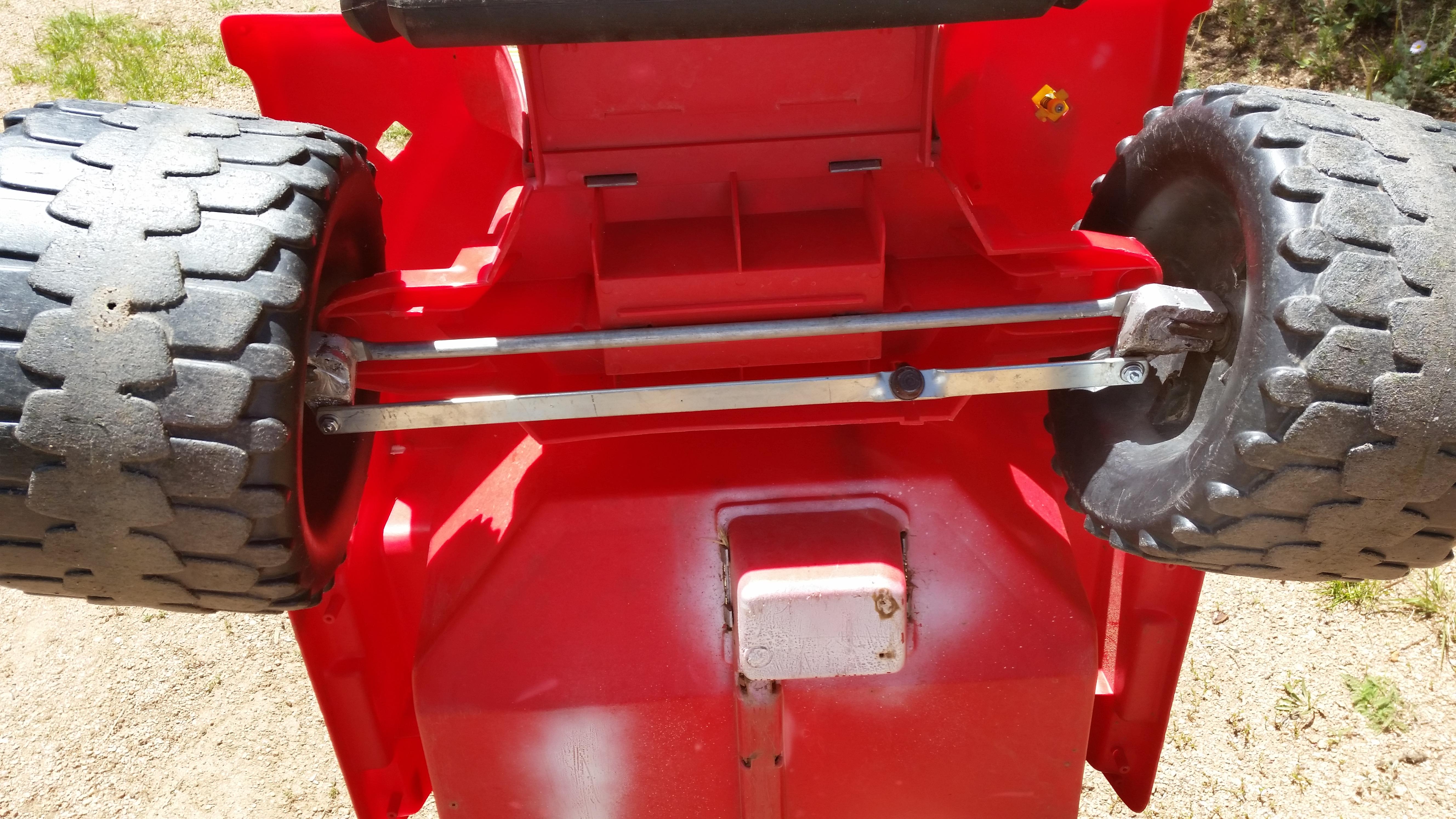 DIY Power Wheels Steering Knuckles