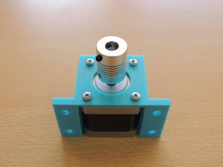 Assembly Nema 17 Motor Stepper to Parts