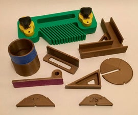 3D Printed Gadgets for Woodworking