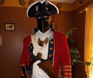 Hessian Soldier Mask and Accessories