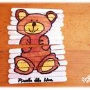 How to draw Teddy Bear step by step!