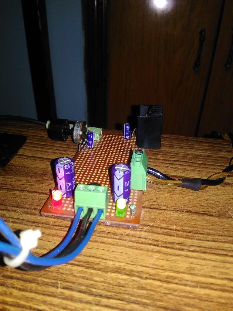 Building the Circuit on Zero PCB