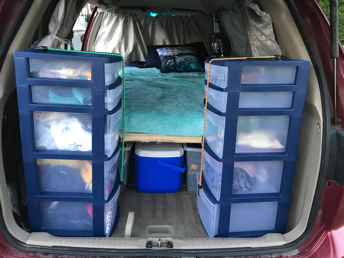 Secure Storage at Rear.